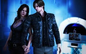 Picture biohazard, Resident evil, Resident Evil 6, capcom, Leon Scott Kennedy, Helena Harper, Leon Scott Kennedy