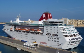 Picture sea, photo, ship, pier, pierce, cruise liner