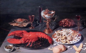 Picture picture, Brussels, Still life with lobster, Osias Beert, Still Life with Lobster, 1624
