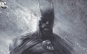 Wallpaper figure, Batman, batman, mask, comic, rain