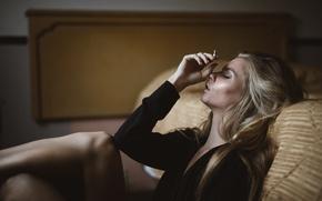 Picture cigarette, Marissa, Jesse Duke
