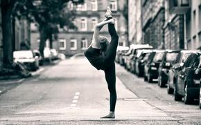 Picture street, dance, grace, ballerina, street ballet