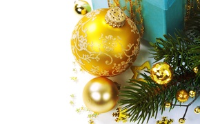 Picture balls, decoration, holiday, New Year, Christmas, Christmas, New Year