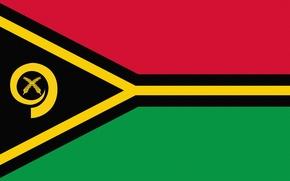 Wallpaper Flag, Photoshop, Vanuatu, Vanuatu