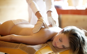 Picture fingers, massage, relaxation
