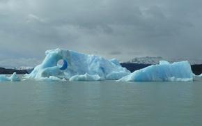 Picture water, glacier, Iceberg, frozen, Iceberg
