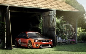 Picture Concept, BMW, Tuning, Orange, Car, 2002, Hommage, 2016