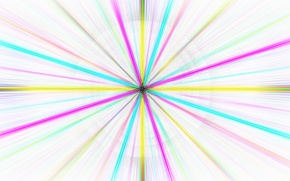 Picture rays, line, paint