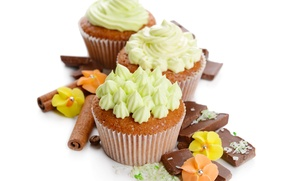 Picture chocolate, cake, cream, dessert, cakes, chocolate, cream, dessert, cupcakes, cupcakes