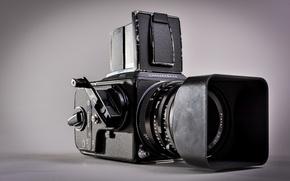 Picture camera, photocamera, HASSELBLAD 503CX, film camera
