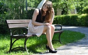 Picture girl, smile, model, legs, beautiful, Natalia Kopacz