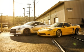Picture nissan, turbo, honda, japan, jdm, tuning, gtr, power, nsx