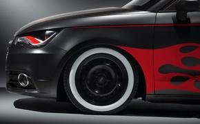 Wallpaper Audi, figure, wheel