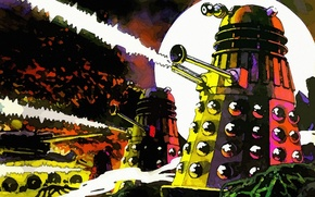 Picture fiction, Doctor Who, Doctor Who, Far, Far