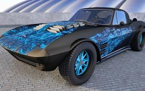 Picture Chevrolet Corvette, Tuning, Grand Sport
