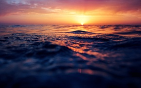 Picture wave, water, the sun, light, bo0xVn