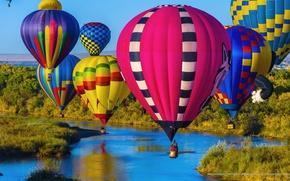 Wallpaper USA, USA, the sky, balls, Albuquerque, air, state, sport, New Mexico, New Mexico, landscape, festival, ...