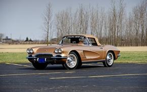 Picture Corvette, Chevrolet, Chevrolet, Corvette, 1962