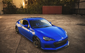Picture coupe, Subaru, sports car, blue, Subaru, brz, quick