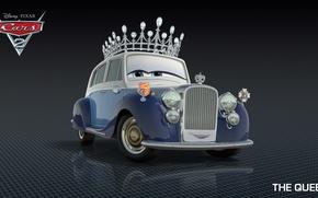 Picture cartoon, cars, pixar, Queen, disney
