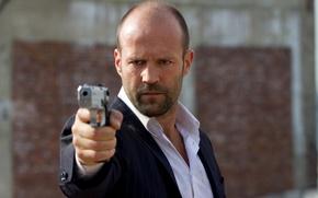 Picture actor, Jason Statham, Jason Statham, Defender, Safe