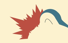 Picture image, pokemon, pokemon, part of the body, cyndaquil, cyndaquil, hasn't finished