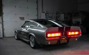 Picture Mustang, Ford, Shelby, GT500, Eleanor, Muscle car