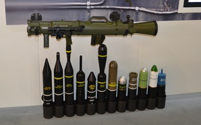 Wallpaper olive, rifle, show, Swedish, cannon, weapon, gun, army, effective range of 400 m on moving ...