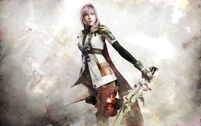Picture girl, final fantasy, the heroine