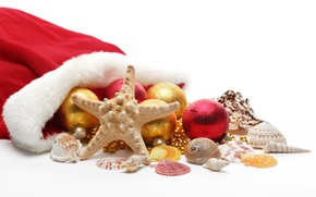 Wallpaper balls, holiday, Christmas, New year