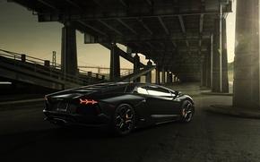 Picture Lamborghini, Bridge, LP700-4, Aventador, Supercar