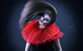 Picture girl, style, makeup