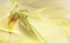 Wallpaper yellow, abstraction, green, background, texture