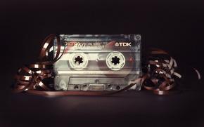 Picture macro, background, cassette
