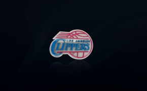 Picture Black, Scissors, Basketball, Background, Logo, NBA, Los Angeles, Los Angeles Clippers