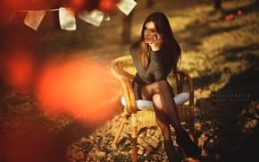 Picture look, girl, Marta Belda