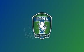 Picture 1957, football club, Tom, FK_Tom, Siberians, green-white, tomichi