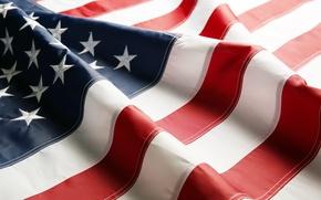 Picture USA, flag, patriotism