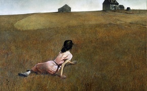 Picture picture, 1948, Christina's world, Andrew Wyeth