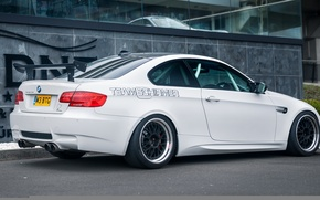 Picture BMW, BMW, white, Beha, E92