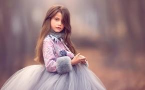 Picture dress, girl, Meg Bitton