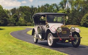 Picture Retro, Car, Touring, 1913, Model C-Six 5-passenger, Stevens-Duryea