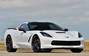 Picture Corvette, Chevrolet, Stingray, by Hennessey, HPE500