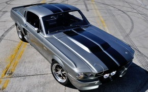 Picture machine, Mustang, Ford, GT500, Mustang, Eleanor, muscle car, the front
