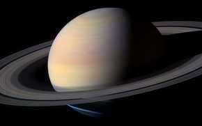 Picture space, planet, ring, Saturn