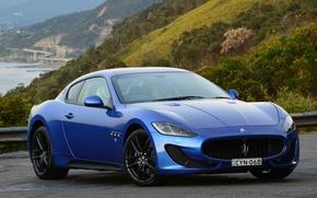 Wallpaper GranTurismo, 2015, supercar, MC Sportline, Pininfarina, Maserati, Maserati