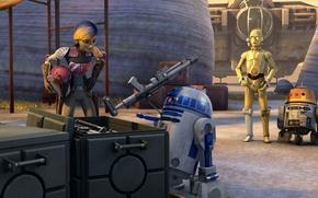Picture droids, Star wars: Rebels, Sabina, Star Wars: Rebels