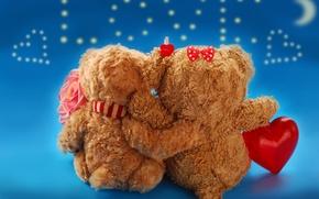 Picture love, heart, love, toy, bear, heart, romantic, sweet