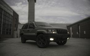Picture car, machine, auto, Grand, Jeep, Cherokee, lightroom, Laredo