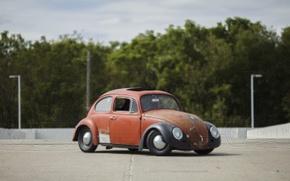 Picture volkswagen, beetle, Parking, Jakes